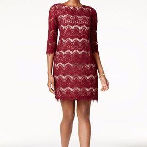 Jessica Howard Lace Sheath Dress Size 16